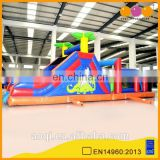 AOQI inflatable obstacle slide with free EN14960 certificate