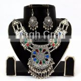 Traditional Navratri Oxidised Necklace Set - Mirror Oxidized Necklace Set- Navratri Wear Costume Jewellery- Ethnic Tribal set