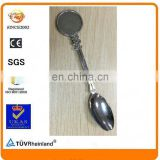 have mould cheaper round circle blank space nickel souvenir spoon