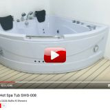 TWO PERSON HOT SPA TUB SWG-008