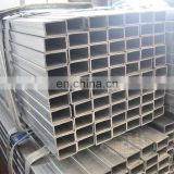 pre galvanized rectangle steel pipe price
