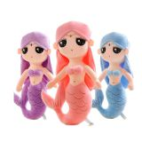 China  Stuffed Animals  Mermaid Princess With PP Cotton Inside And Different Colors