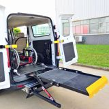 UVL-700-F Hydraulic wheelchair passenger lift for van rear door installed under chassis with capacity 300kg