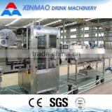 2016 hot sale automatic shrink sleeve labeling machine with steam shrink tunnel and generator