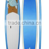 Customize design surfing board bamboo stand up paddle board