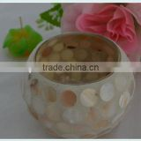round shell candle holder new products