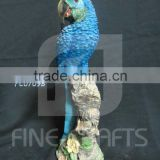 Resin Parrot Animal Statue Garden Decoration