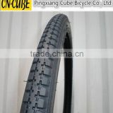 High performance bike tire,black color bike tire for kids