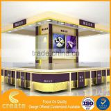 New design cardboard folding standee display tall storage cabinets with doors