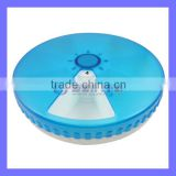 100Pieces Pill 100mm Diameter PP 7 Days Pill Storage Boxes for Family