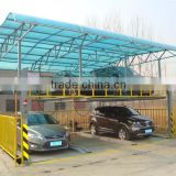 2 level double deck parking car lift/ Double parking car lift