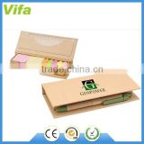 eco desktop sticky notes set with recycled paper pen                                                                         Quality Choice