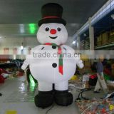 Snow man advertising air dancer for Christmas decoration/inflatable air dancer snow man/inflatable sky dancing cartoon snow man