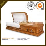 SUMMERVILLE OAK funeral supplies wood coffin American wood casket