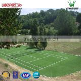 High Resilience 16mm Synthetic Turf Artificial Grass For Tennis Court