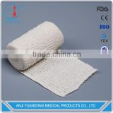 YD-30014 Hot factory High Quality factory Natural Color Elastic Spandex cotton Crepe Bandage