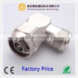 N pot terminal connector RF connector N male right angle crimp type for rg59 XiXia Communication