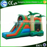 Popular kid's toys inflatable bouncy castle with water slide                                                                                                         Supplier's Choice
