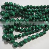 GENUINE Malachite 6mm to 12mm round natural gemstone semi precious loose beads