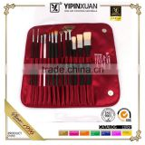 High Grade 13Pcs Whole Type Artist Paint Brush Set Fabric Bag Packing Paint Brush Manufacturers China                                                                         Quality Choice