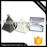 Tea Set, Black and White Tea Set, Chinese Tea Table Set
