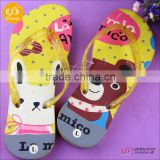 OEM factory wholesale summer promotional products cheap plastic flip flops