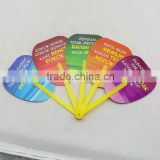Promotion Gift Cheap Advertising Hand Fan custom printed folding hand fan                                                                         Quality Choice