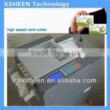 high speed business card cutting machine, automatic card die cutter,card cutter, card slitter