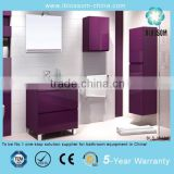 15mm PVC board bathroom vanities with legs                                                                         Quality Choice
