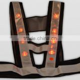 hi vis led flashing reflective safety vest kid clothes,kid clothes stocks,kid clothes branded