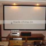 Wall Mounted Motorized Projector Screen/Electric Projector Screen/Automatic Projector Screen