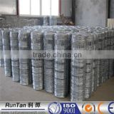 ISO9001 anping galvanized grassland fencing/cow fence/field fence /wire mesh cattle fence farm guard field fence