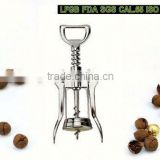 2014 hot design zinc alloy rabbit corkscrew set in wooden box corkscrew wine opener stainless steel wine opener