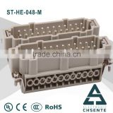 ST- HE terminal connector female to male electrical clamp 16 pin auto electric material terminals
