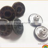 Hot sale Plating Snap metal button