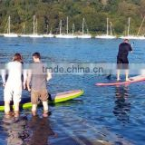 mirror polish wooden stand up paddle board sup table with china factory price