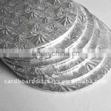 factory baking paper foil covered corrugated cake board