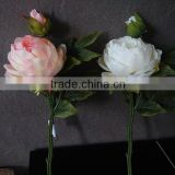 small short stem artificial peony silk flower