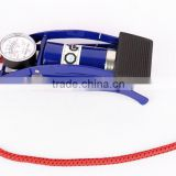certificated durable high quality single barrel cylinder with gauge JL9103 for Car and Motorcycle foot air bike pump