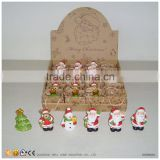 Unique Wholesale Ceramic Christmas Hanging Ornament in Mini Gift Bags