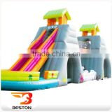 funny inflatable water slide amusement park for kid games