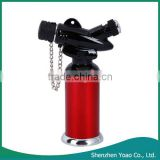 Stylish Refillable Butane Gas Jet Flame Torch Lighter