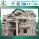 Fireproof Fiberglass Outside Wall Decorative Moulding GRC Cement Cladding