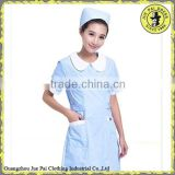 Sweet Hospital Staff Uniform With Cap For Angle Nurses