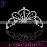 rhinestone hair combs tiara hair jewelry vintage bridal tiaras filigree charm wedding hair ornament
