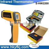 industrial instant read infrared digital pyrometer thermometer high temperature detector