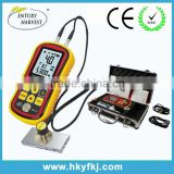Best quality microprocessor car paint thickness gauge ultrasonic paint coating digital depth gauge