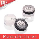 wholesale empty cosmetic loose face powder case