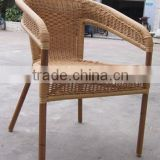 Outdoor furniture bamboo like chair wicker rattan furniture