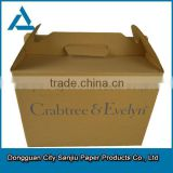 (Brown Colour Print) Double-wall Brown Paper General Packaging & Storage Corrugated Carton Box